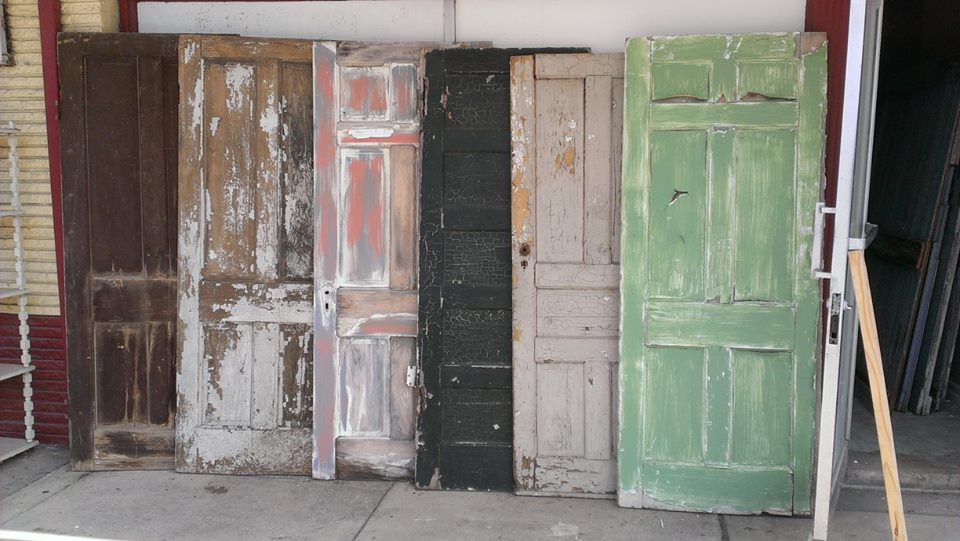 old wood entry doors for sale. click on bottom right picture for more info? price $40 old wood entry doors sale