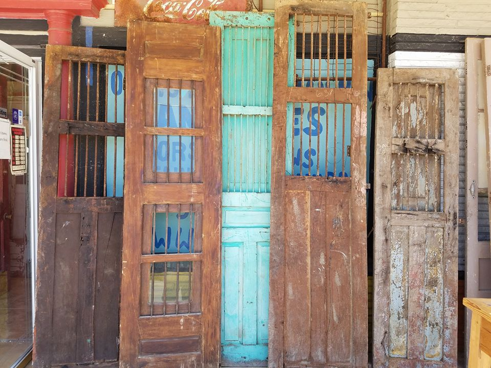 Price each: $295. click to open on bottom right corner ... - Old Is Better Than New - Old Colonial Mexican Doors Vintage & Antique