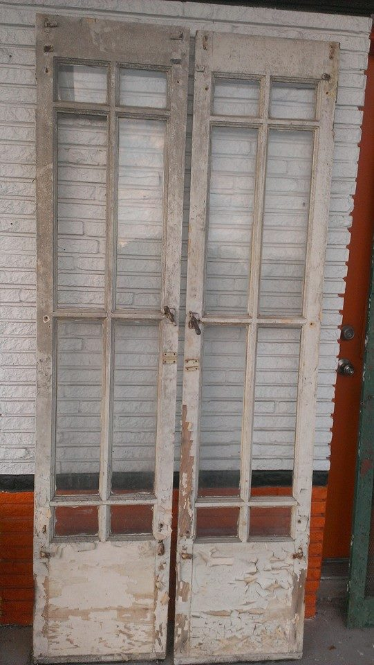 Antique Architectural Old Wood & Glass Doors from Texas. Stock daily. - Old Is Better Than New - Antique Architectural Old Wood & Glass