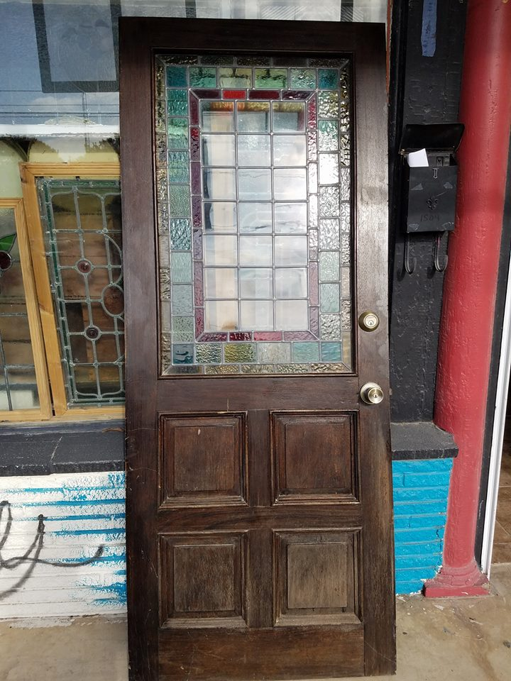 Old Antique & Vintage Front Entry Stained Glass or Wood Doors! - Old Is Better Than New - Old Antique & Vintage Front Entry Stained